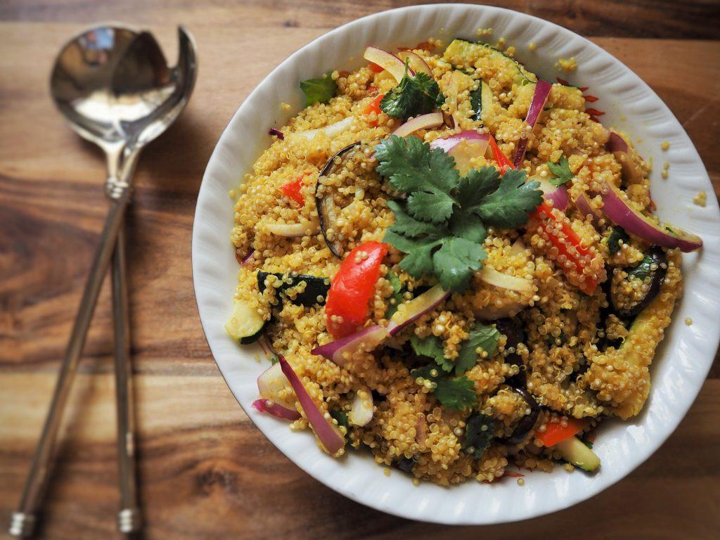 vegan-dinner-quinoa