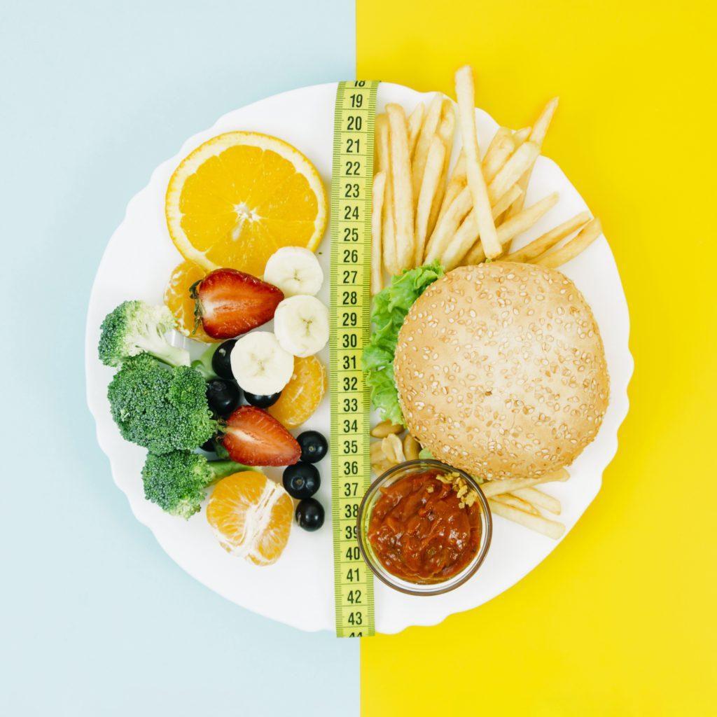 healthy-diet-vs-unhealthy-diet