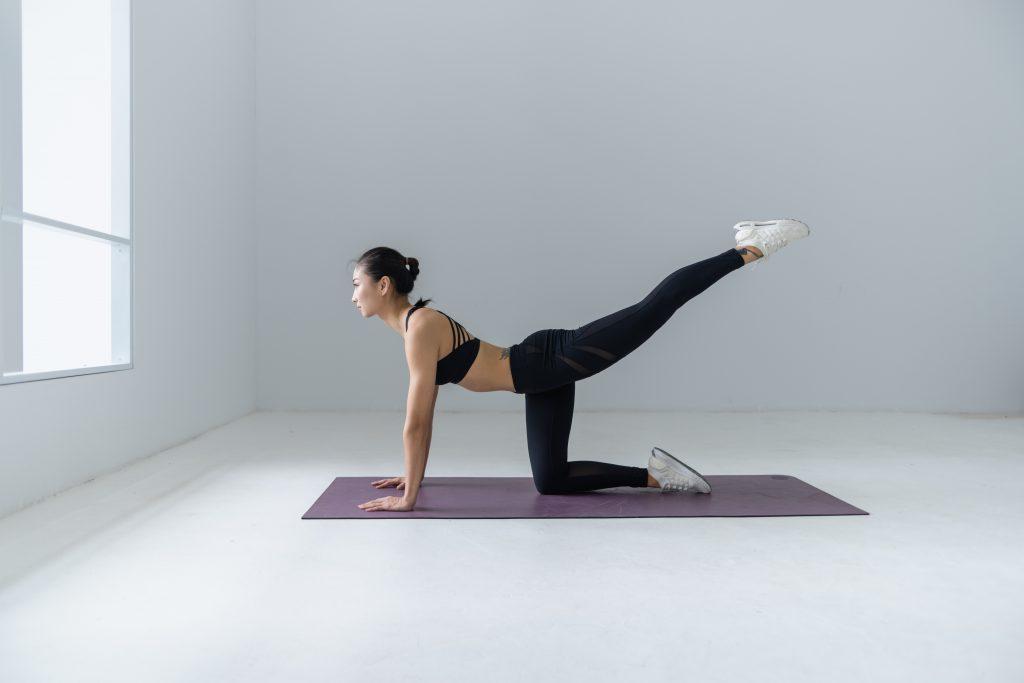 women-stretching