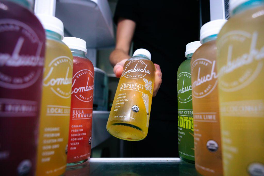 different kombucha flavors